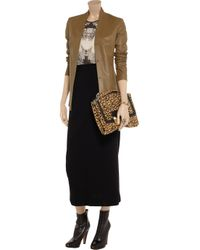 JOSEPH Black Anne Crepe Maxi Skirt
