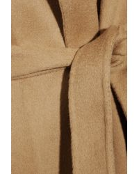 JOSEPH Natural Lisa Belted Wool and Cashmereblend Coat