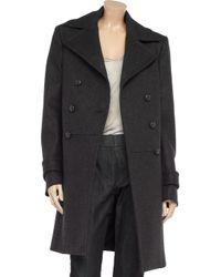 JOSEPH Gray New Soho Woolblend Coat
