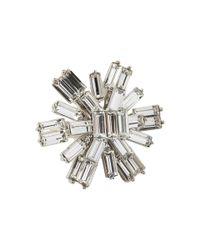 kate spade new york - Metallic Electric Gardens Ring - Lyst