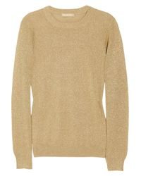 Michael Kors Metallic Knitted Sweater