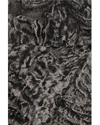 Michael Kors - Gray Woolblend Brocade Dress - Lyst