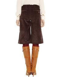 M.i.h Jeans Brown Manulla Corduroy Culottes