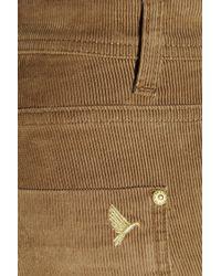 M.i.h Jeans Brown Milan Midrise Corduroy Jeans