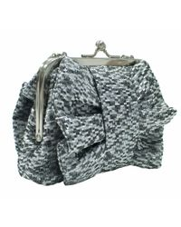 Ollie & Nic Gray Bowie Clutch Bag