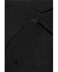 Ports 1961 Black Wooljersey Dress
