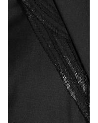 Ports 1961 Black Wool twill Blazer