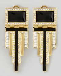 Rachel Zoe | Metallic Deco Drop Earrings | Lyst