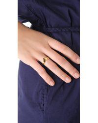 Shashi - Metallic Dillon Ring - Lyst