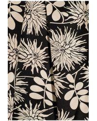 Stella McCartney - Black Ilda Driving Printed Stretchsilk Satin Camisole - Lyst