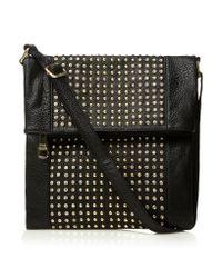 Steve Madden Black Bgalaxy Sm Crossbody Fold Satchel Bag