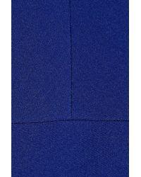 Antonio Berardi - Blue Stretch-crepe Dress - Lyst