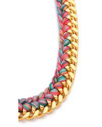 Aurelie Bidermann Metallic Do Brasil Necklace