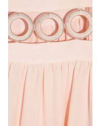 Azzaro Pink Leslie Silk Gown