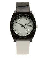 Nixon | White Time Teller Watch for Men | Lyst