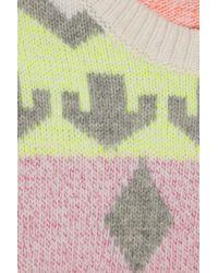 Stella McCartney | Multicolor Reindeer Intarsia Woolblend Sweater | Lyst