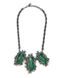 BaubleBar | Green Krypton Collar | Lyst