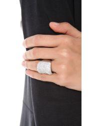 Michael Kors Metallic Concave Ring