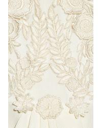 Temperley London - Multicolor Laelia Floralappliquéd Silk Crepe De Chine Gown - Lyst