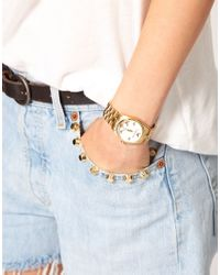 Zadig & Voltaire - Metallic Gold Butterfly Bracelet Watch - Lyst