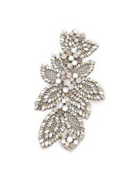 Jenny Packham Metallic Acacia Bracelet - Crystal