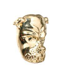 ASOS - Metallic Pack Of Bulldog and Spike Stud Earrings - Lyst