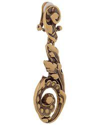 Oscar de la Renta Metallic Goldplated Clip Earrings