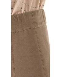Donna Karan New York | Brown Legging Pants | Lyst