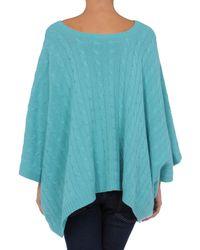 Ralph Lauren Black Label | Blue Short Sleeve Sweater | Lyst