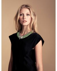 Temperley London - Green Deco Bead Necklace - Lyst