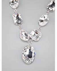 Atelier Swarovski - Metallic Diana Vreeland Legacy Collection Necklace - Lyst