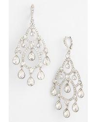 Givenchy | Metallic Taylor Chandelier Earrings | Lyst