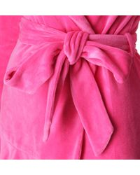 Juicy Couture Pink Velour Robe