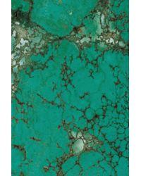 Kelly Wearstler - Metallic Turquoise Cuff - Lyst