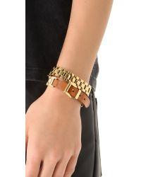 Michael Kors - Metallic Watch Link Wrap Bracelet - Lyst