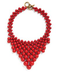 ModCloth | Multicolor Bead My Baby Necklace | Lyst