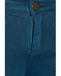 Victoria Beckham Blue Power Mid-rise Leggings-style Jeans