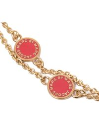 Marc By Marc Jacobs - Metallic Double Wrap Around Necklace - Lyst