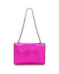 Rebecca Minkoff | Purple Metallic Quilted Affair Bag | Lyst