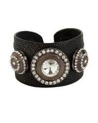 BaubleBar | Black Noir Amazon Cuff | Lyst