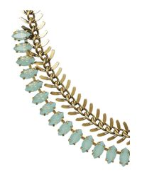 Elizabeth Cole - Metallic 24karat Goldplated Pacific Opal Necklace - Lyst