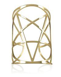 Pamela Love | Metallic Brass Mini Pentagram Cuff | Lyst