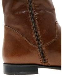 ALDO - Brown Fantlant Knee Boots - Lyst