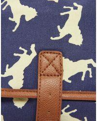 ASOS Collection - Blue Asos Bird Print Rucksack - Lyst