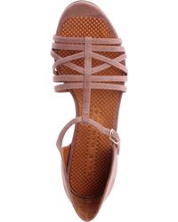 Chie Mihara Brown Gipsy Suede Sandals