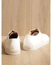 Dries Van Noten White Dries Van Noten Mens Mens Lace-up Shoes for men