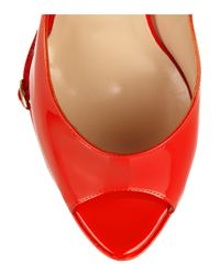 Nicholas Kirkwood - Red Patent Leather Wedge Pumps - Lyst