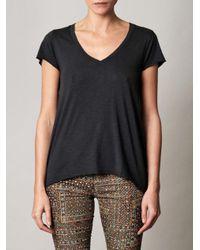 American Vintage - Gray Jacksonville Tshirt - Lyst