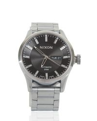 Nixon | Metallic The Automatic Ii Watch for Men | Lyst