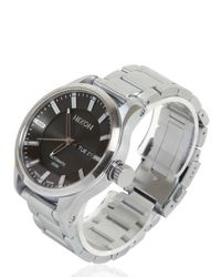 Nixon | Silver The Automatic Ii Watch for Men | Lyst